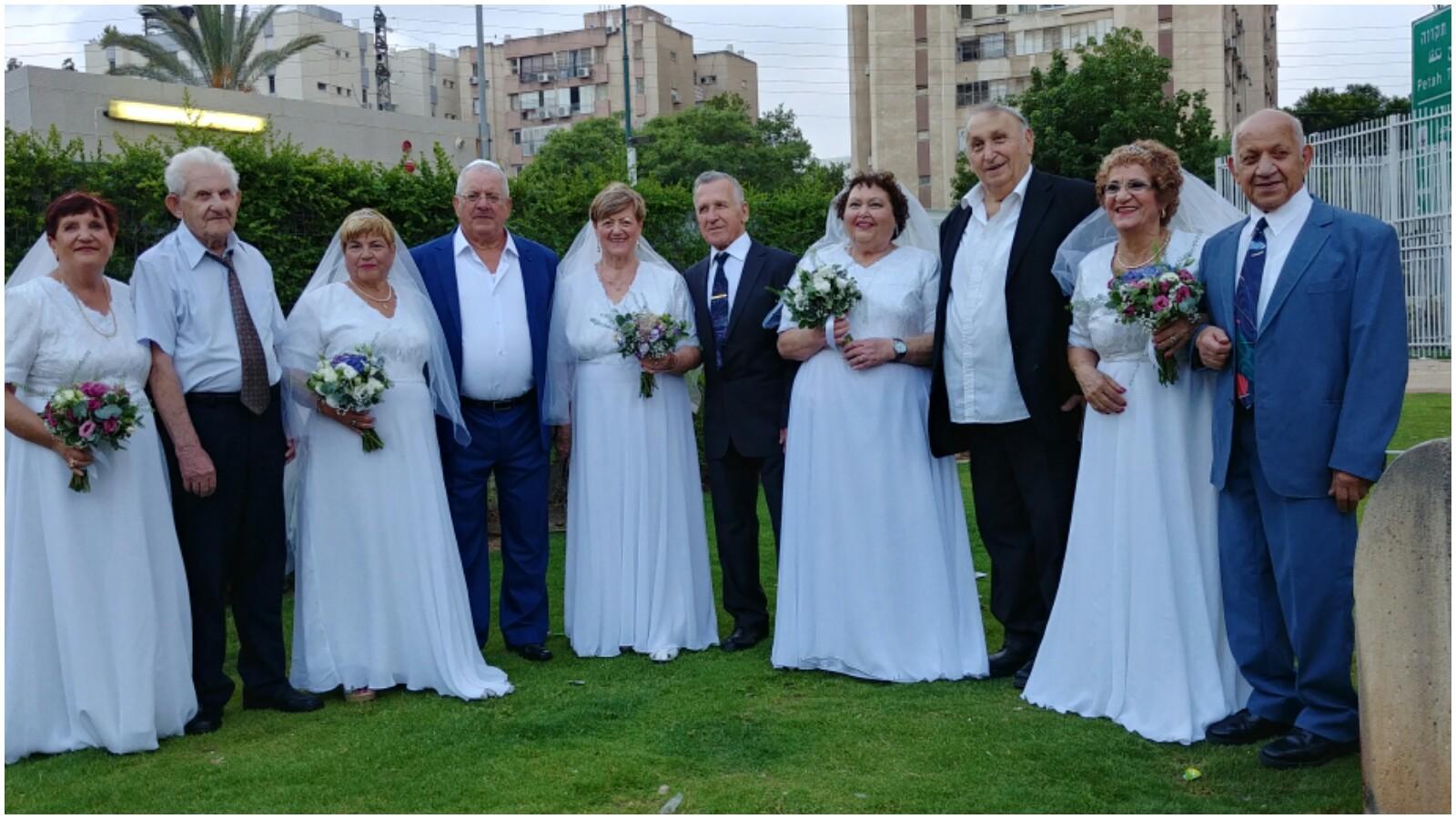 חתונת שורדי השואה צילום באדיבות רשת מפגשים