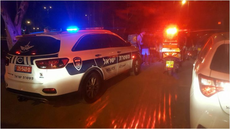 כוחות משטרה בזירה בסירקין צילום איחוד הצלה
