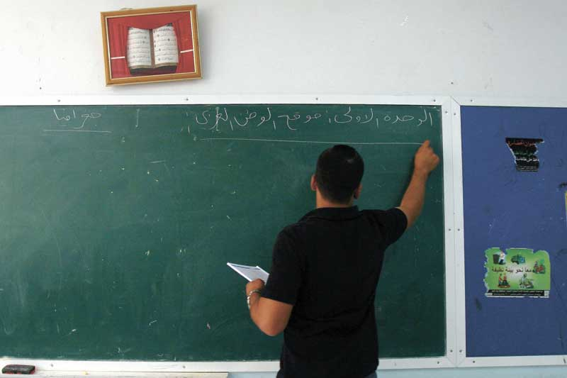 מורה בכיתה צילום טס שפלן