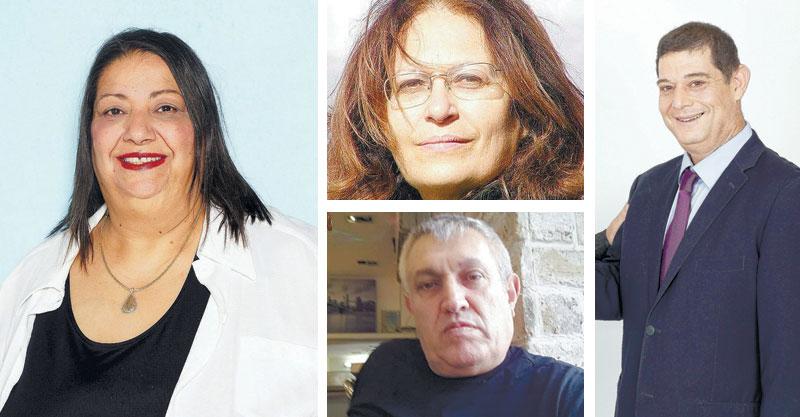 אורי אהד (צילום גלעד אהד) , מוניקה כהן, אתי פרל, אבנר מוכתר