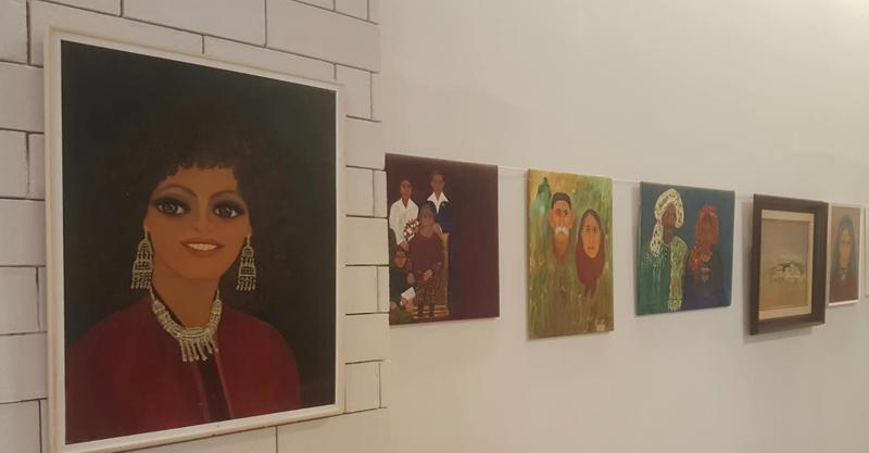 תערוכת ציוריה של שושנה דמארי. באדיבות עיריית ראש העין