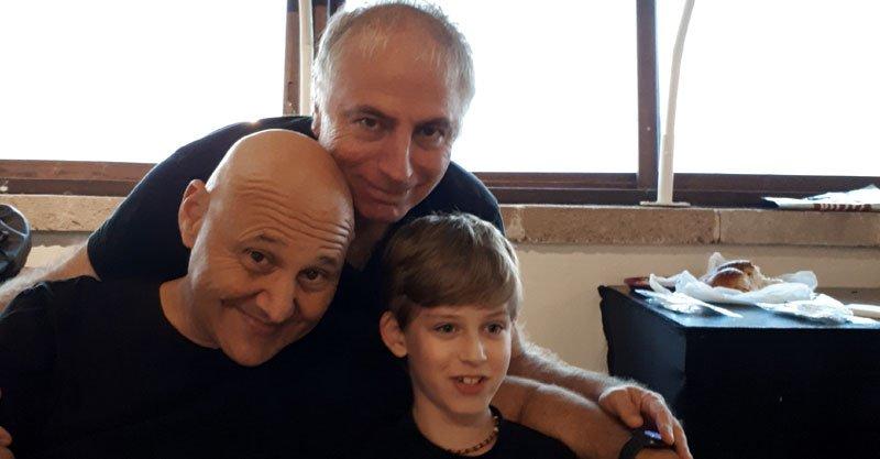 אבישי עם דני בסן ויאיר ניצני