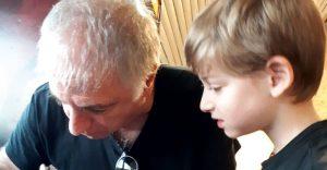 אבישי עם דני בסן