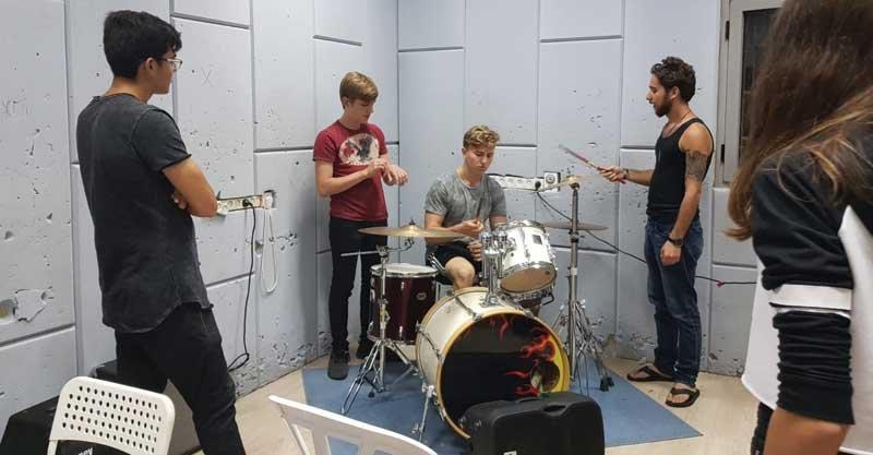 בית דני מרכז מוזיקלי. צילום באדיבות אגף הנוער