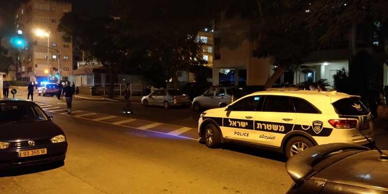 ירי ברחוב טרומפלדור בפתח תקוה. צילום איחוד הצלה