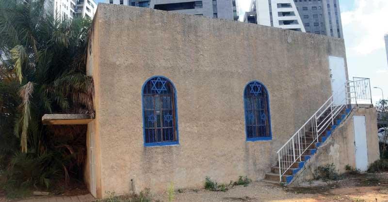 בית הכנסת של חכם אליעזר צילום זאב שטרן