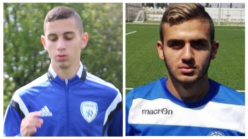 איליי חן, דניאל טסקר. צילום מתוך אתר ההתאחדות לכדורגל
