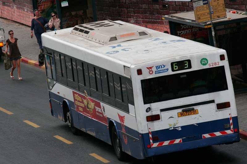 אוטובוס דן. צילום תומר אפלבאום