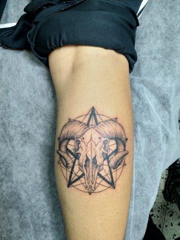Killer Cat Tattoo