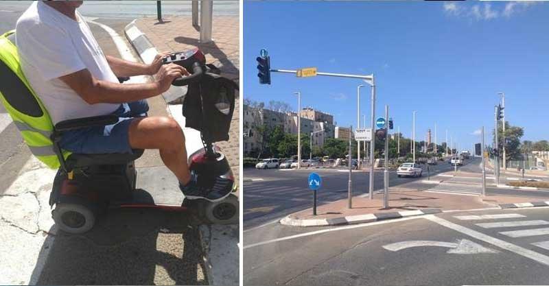 גמלאי שנפצע- הרחוב דנקנר זבוטינסקי