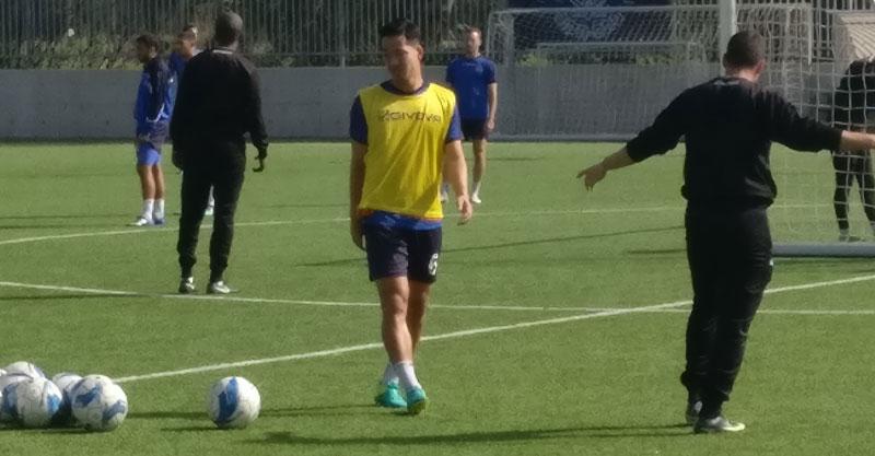 מוראיאמה באימון היום