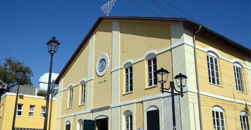 בית הכנסת הגדול צילום זאב שטרן