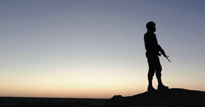 """חייל צה""""ל. צילום אילוסטרציה אילן אסייג"""