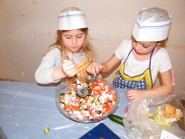 מבשלים ביחד - בסדנאות של רוית. צילום עצמי