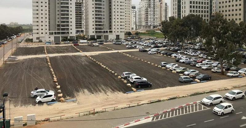 החניון החדש ברחוב שחם
