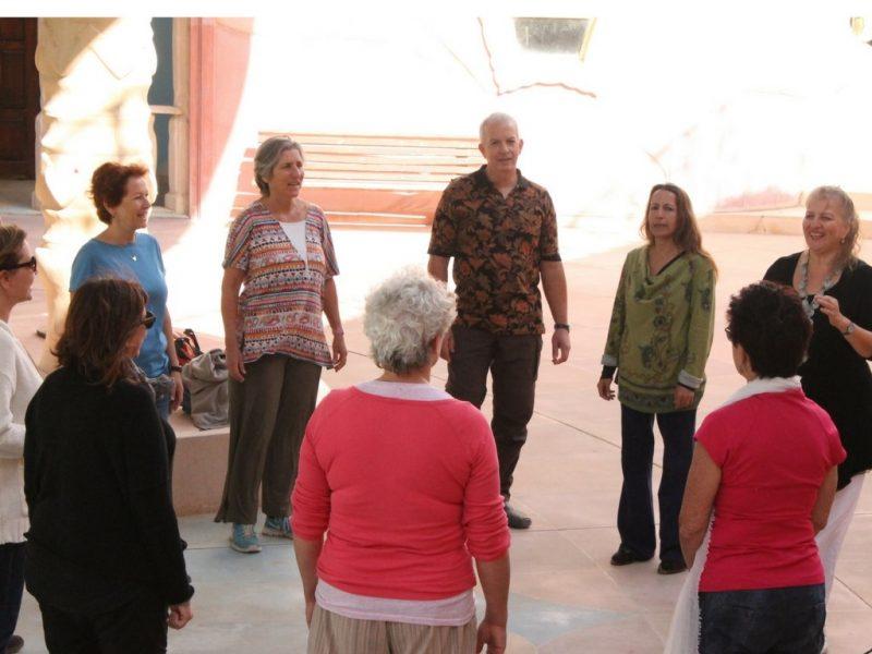 רותי חלבני, מורי פיתוח קול מומלצים במרכז. צילום: עמיר פריימן