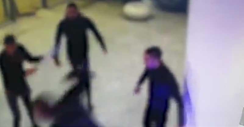 אירוע התקיפה צילום באדיבות המשטרה