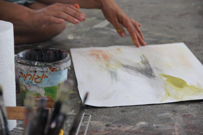 מטפלים באומנות במרכז: דורית טייכמן