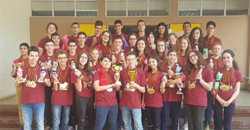 תחרות דיבייט חטיבת רשיש. צילום באדיבות בית הספר