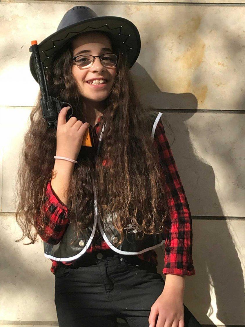 דניאל חדד, בת 11.5, קאבוית