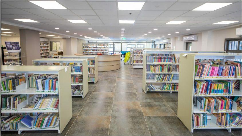 ספריית נווה גן צילום באדיבות העירייה