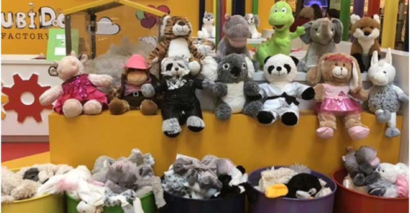דובי או חד קרן? המפעל של דובידו הגיע לקניון הגדול