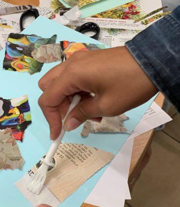 טיפול באומנות משולב CBT. צילום: שרון ירושלמי חסון