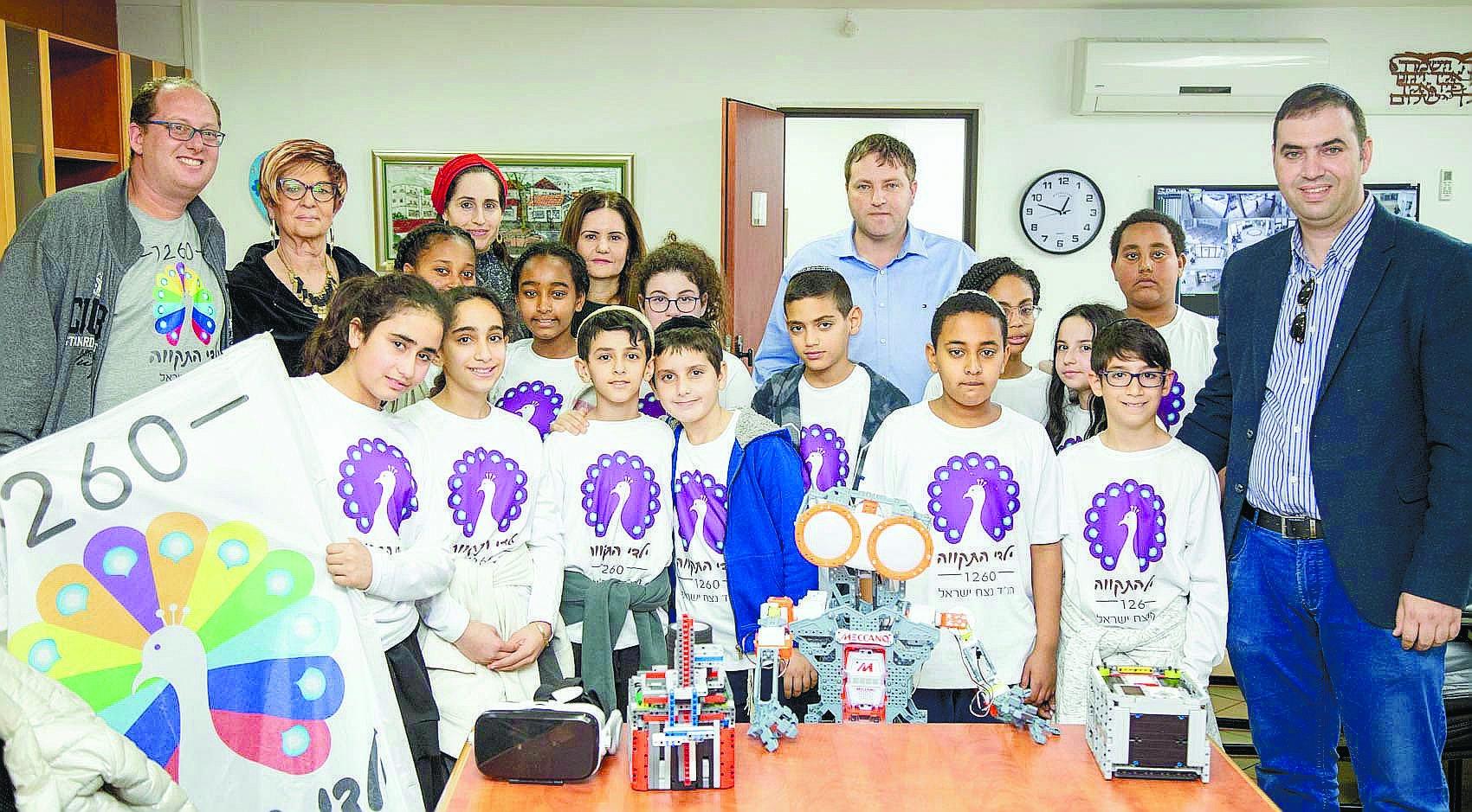 תלמידי נצח ישראל. צילום עיירת פתח תקווה