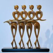 Ballet Dancers by Victor Halvani. Photographer: Yuval Halvani