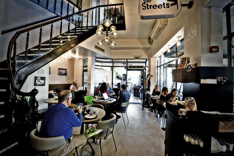 Recommended Cafes in Tel-Aviv- The Streets. Photographer: Ran Biran