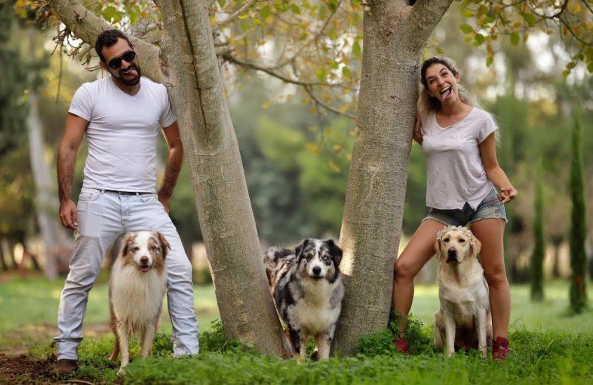 סבקה: פנסיון כלבים במרכז. צילום: מאיר גור, גור צלם כלבים