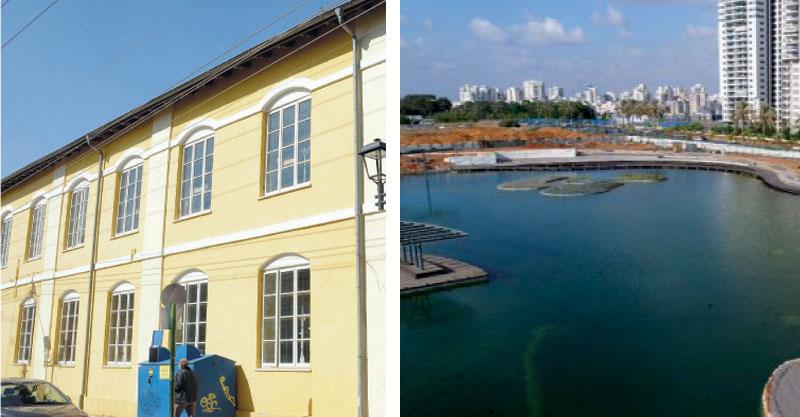 בית הכנסת הגדול, האגם האקולוגי. צילומים זאב שטרן, דוברות העירייה