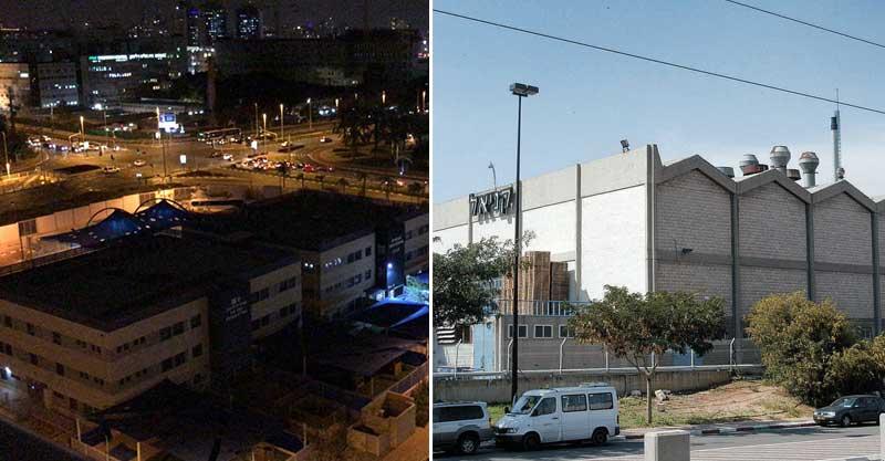 מימין: מפעל קניאל, גן ילדים ברחוב מבצע דקל 3. צילומים זאב שטרן, באדיבות ההורים