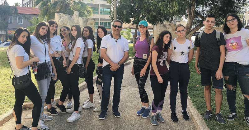 הזנקה למרוץ לירוק קבוצת נוה עוז ורמת וורבר צילום: אגף הנוער