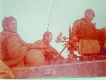 תמונות מהמלחמה של מנדי יעקובוביץ