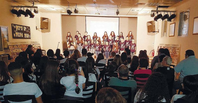 יום השואה במרכז הנוער נוה עוז צילום באדיבות אגף הנוער