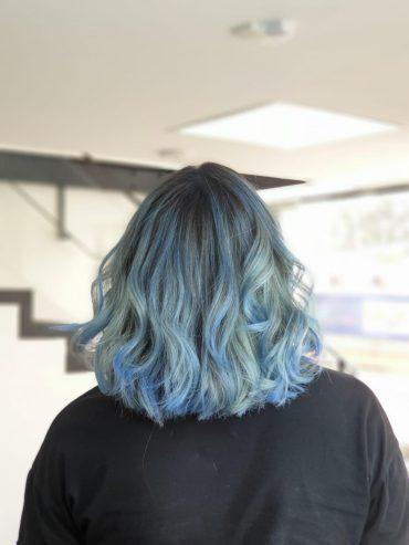 עיצוב שיער בסטייל. צילום עצמי