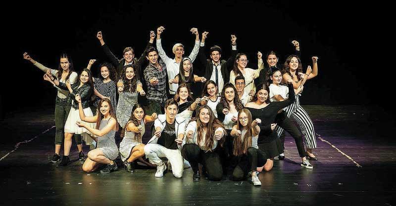 להקת הבמה שלנו צילום ענבר בלינסקי