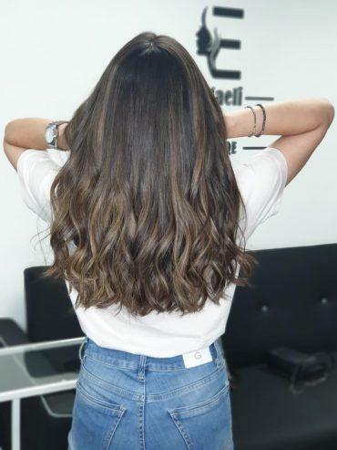 עדן צנעני עיצוב שיער. צילום עצמי