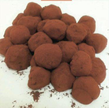 מדור אוכל- טראפלס שוקולד