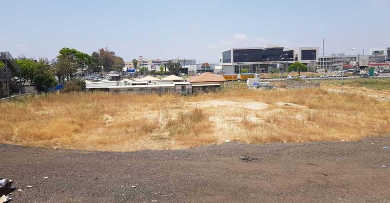 שטח סמוך לרחוב ויזנטל. צילום באדיבות התושבים