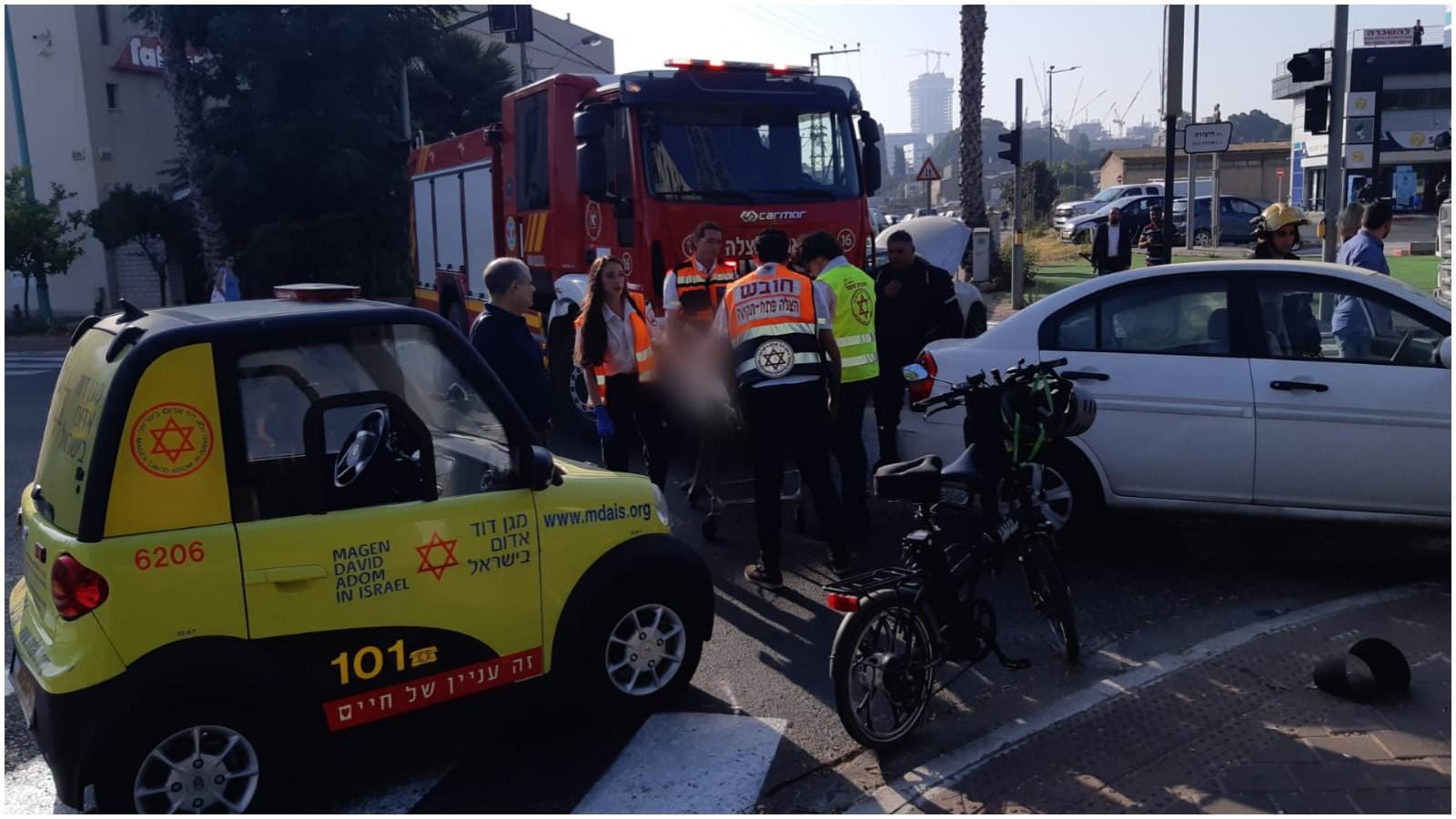 זירת התאונה צילום איחוד הצלה