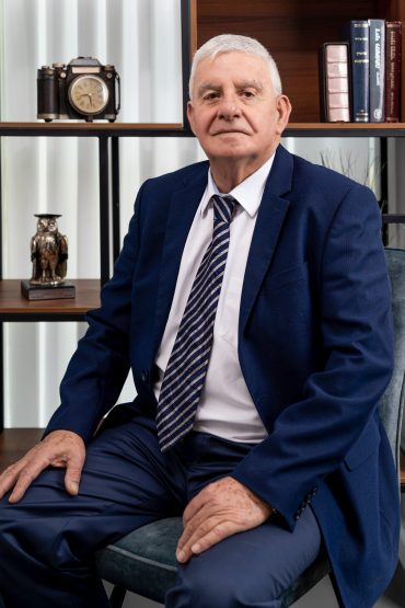 עורך הדין מנחם גרון. צילום: מאור מויאל