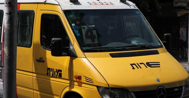 מונית שרות. צילום אביעד הרמן