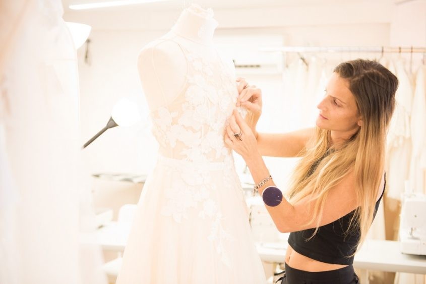 אליה וטין – סטודיו לעיצוב שמלות כלה. צילום:josef cohen