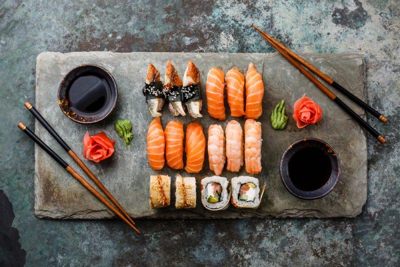 סושי מומלץ במרכז. תמונה ממאגר Shutterstock