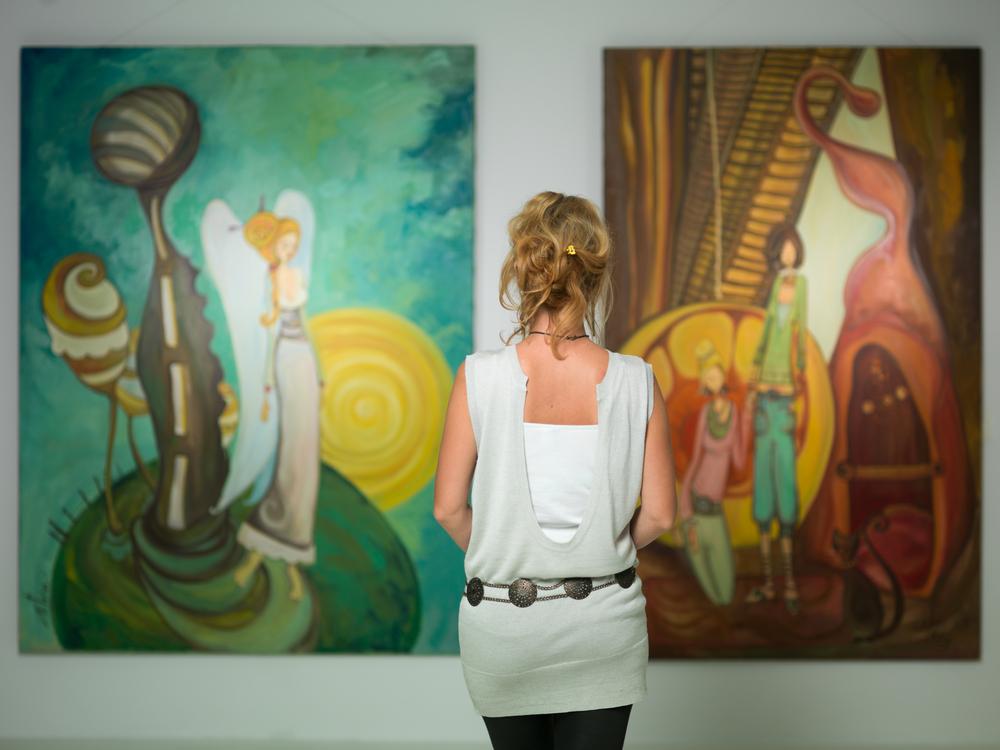 גלריות בתל אביב (Shutterstock) צילום: Comaniciu Dan