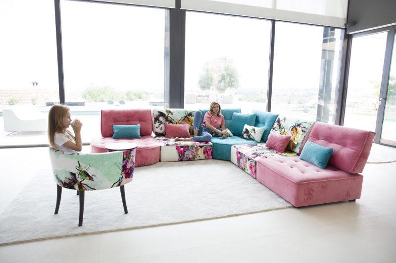 לעצב את הספה בדיוק לפי הצרכים (צילום: מתוך האתר הרשמי של FAMA)