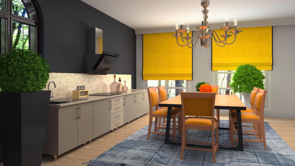 עיצוב פינות אוכל בפתח תקוה (Shutterstock) צילום: Interior Design