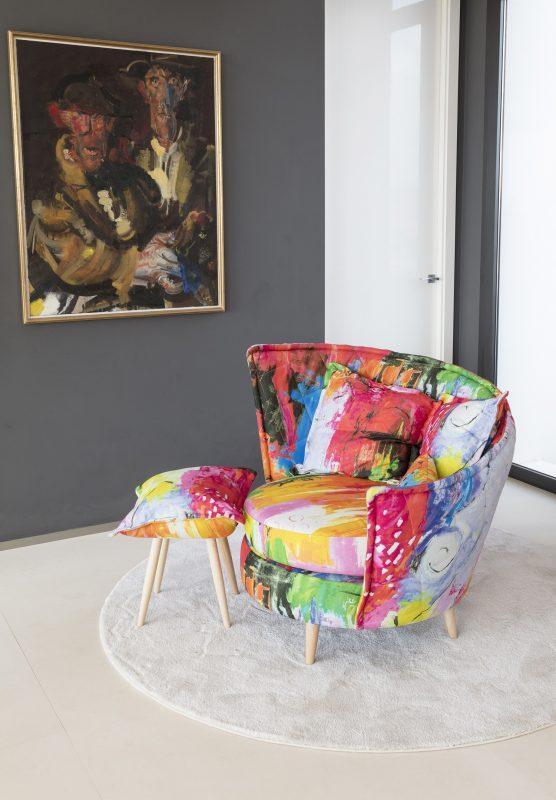 מגוון צבעים, דוגמאות וטקסטורות (צילום: מתוך האתר הרשמי של FAMA)